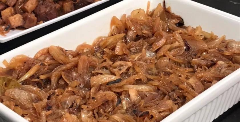 طاجن البصل