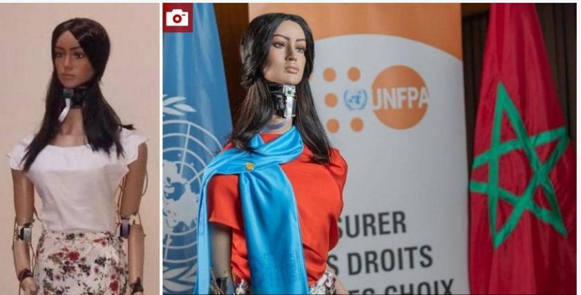 روبوت تحارب العنف ضد المرأة