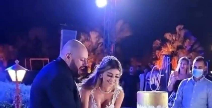 حفل زفاف ميار الغيطي