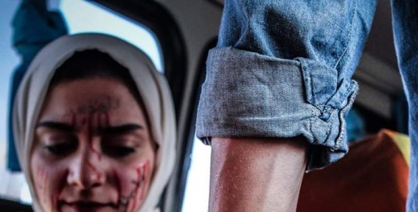 كواليس جلسة تصوير تحاكي التحرش بالمواصلات