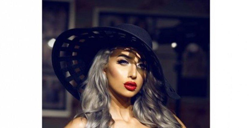 عارضة الأزياء السعودية روزانا