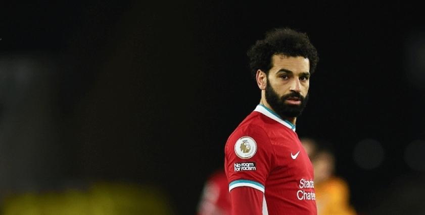 محمد صلاح لاعب ليفربول الإنجليزي