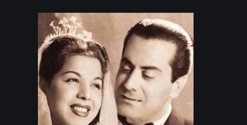 سامية جمال وفريد الأطرش