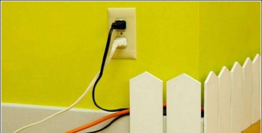 افكار لتجميع اسلاك الكهرباء
