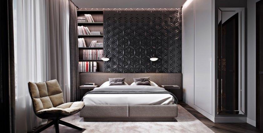 ديكورات مميزة لحوائط غرف النوم
