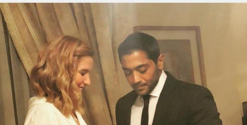 أحمد فلوكس وزوجته