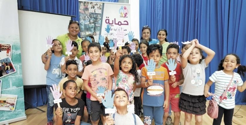 حملات بالمدارس لمناهضة التنمر ضد الأطفال برعاية الـ