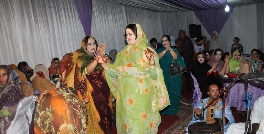 احتفالات الطلاق في موريتانيا