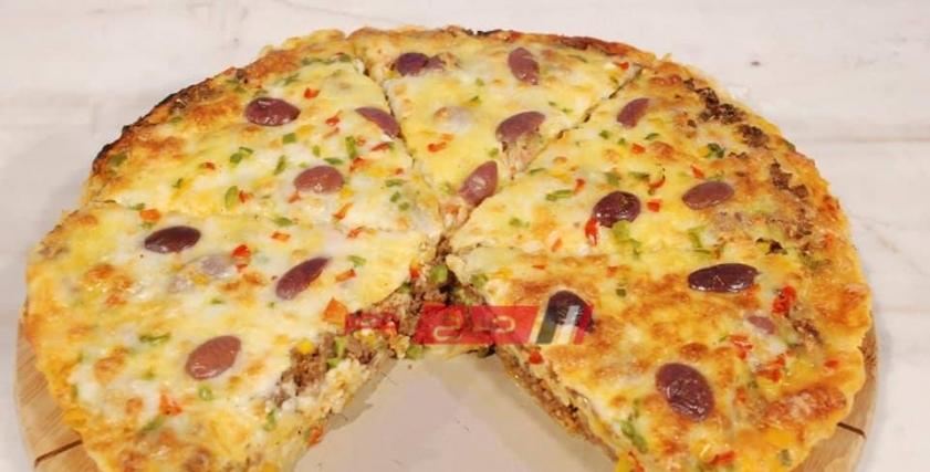 طريقة عمل جلاش بيتزا