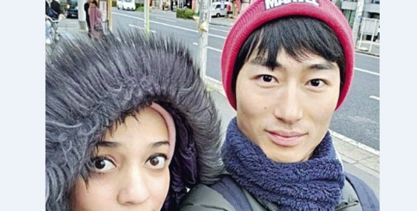 مصرية تتزوج من ياباني:
