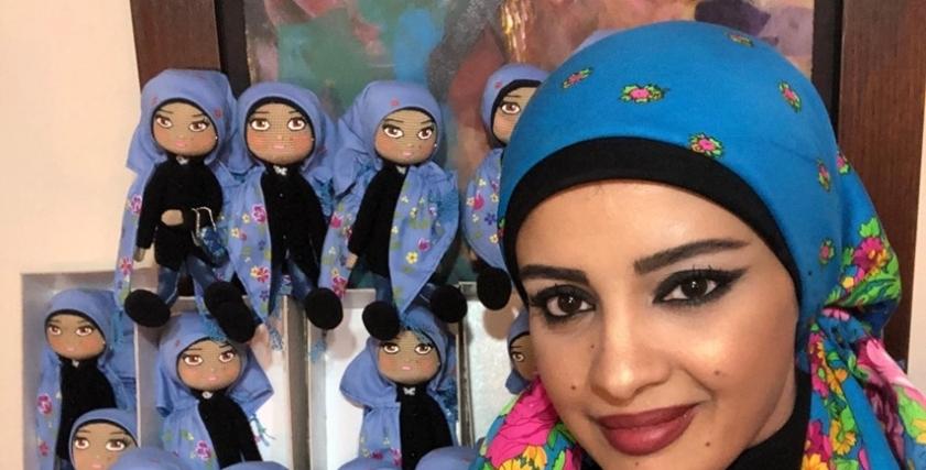 فاطمة حسن الفنانة التشكيلية