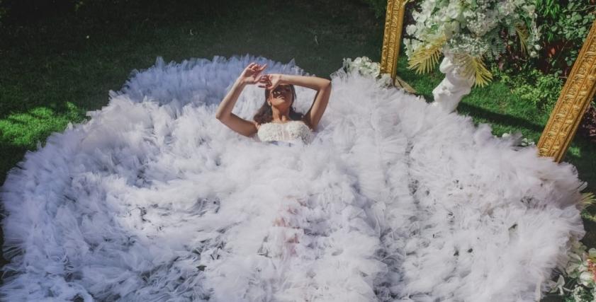 فستان زفاف من محمود غالي