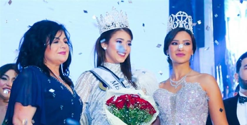 دينا حامد ملكة جمال مصر للكون