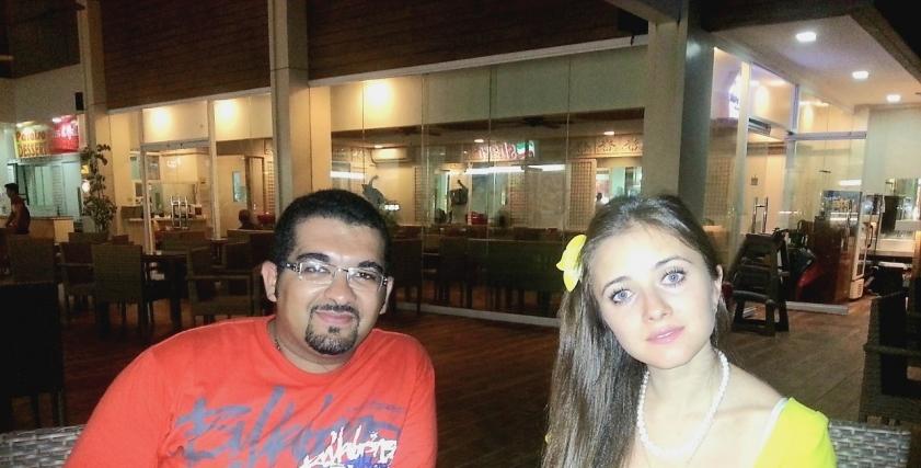 أحمد وكرستينا