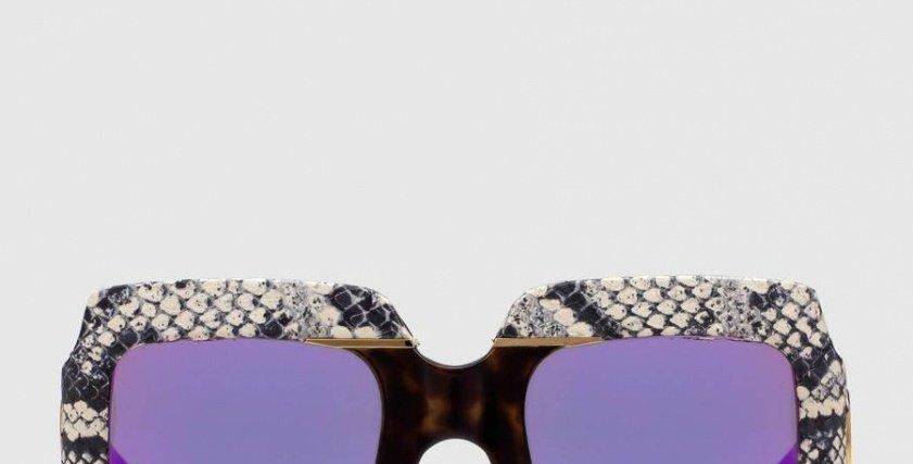 الريترو والفانتازيا مع نظارات غوتشي