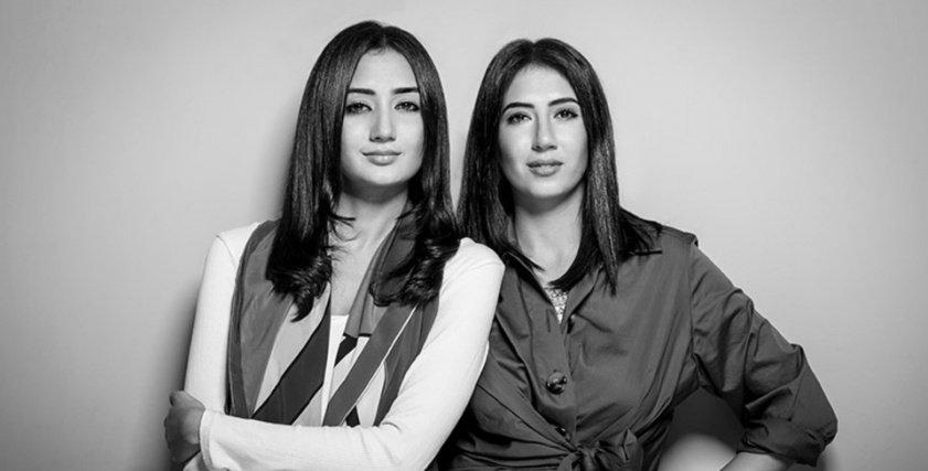 الأختان آية وموناز عبدالرؤوف