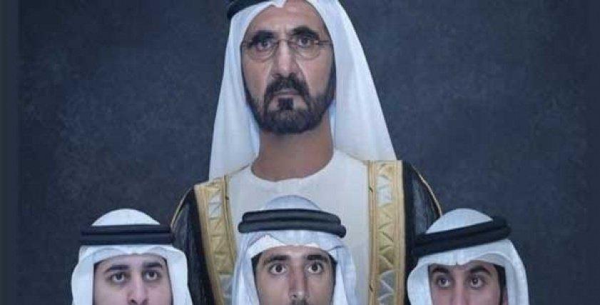 أبناء محمد بن راشد آل مكتوم