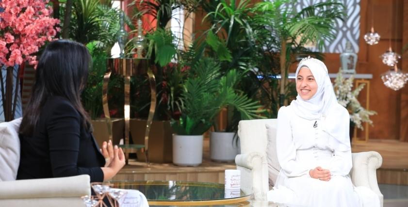الزهراء حلمي.. أول فتاة تتلو القرآن أمام رئيس الجمهورية