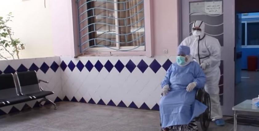 مسنة تتغلب على فيروس كورونا