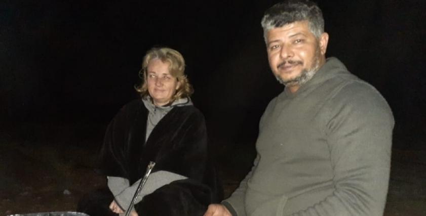 أكسانا وزوجها