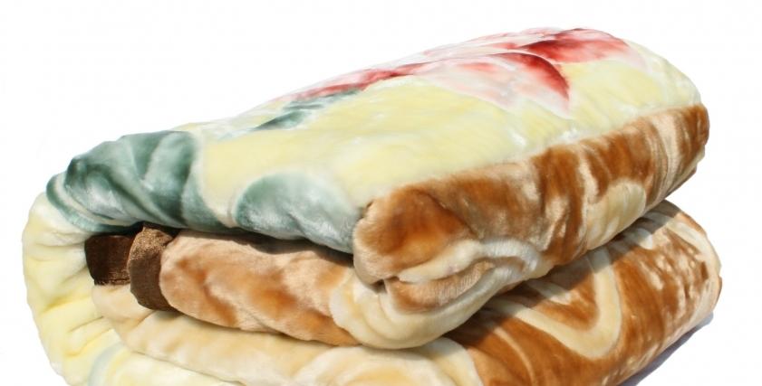 بطانية عقب تنظيفها