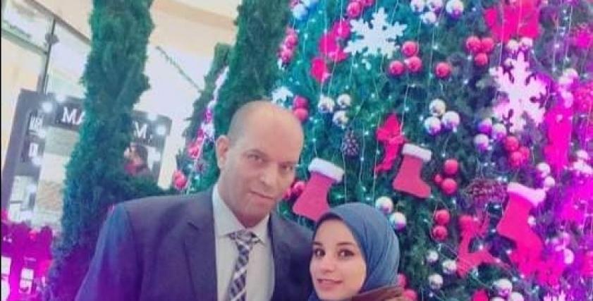 الطبيبة ياسمين حسن ووالدها