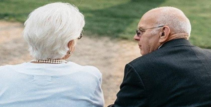 الزوجان المحبان - صورة أرشيفية