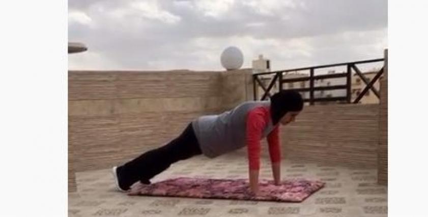 مدربة لياقة بدنية شيماء رجب