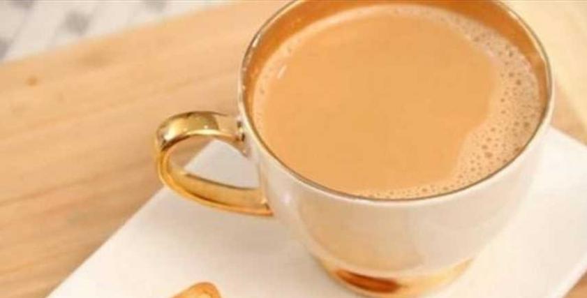 الشاي بلبن