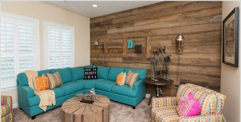 بالصور| الخشب.. السر وراء أفكار مميزة في ديكور المنزل