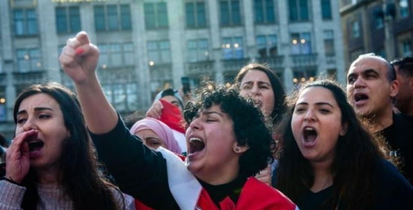 المظاهرات اللبنانية
