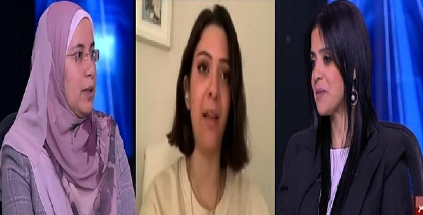 زهراء الخطيب ونادين أشرف ومروة الدالي