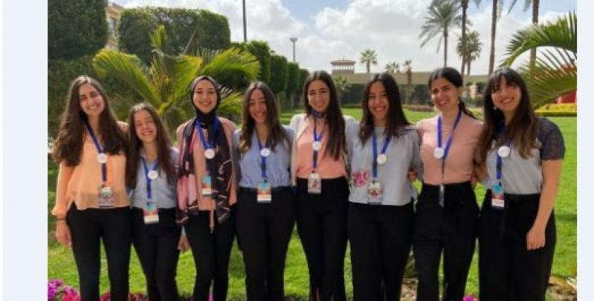 مشروع تخرج 8 طالبات لتجميل لاحياء وتجميل مناطق القاهرة والمحافظات