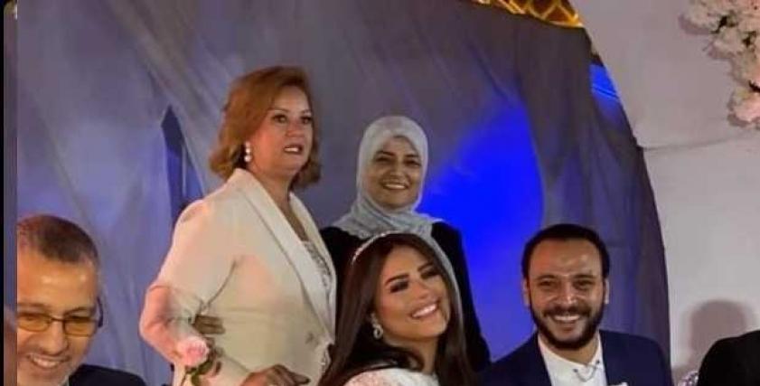عقد قران أحمد خالد صالح وهنادي مهنا
