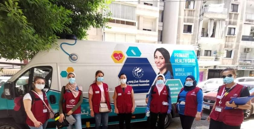 طبيبات بيروت المتطوعات لعلاج مصابي انفجار مرفأ بيروت نفسيًا