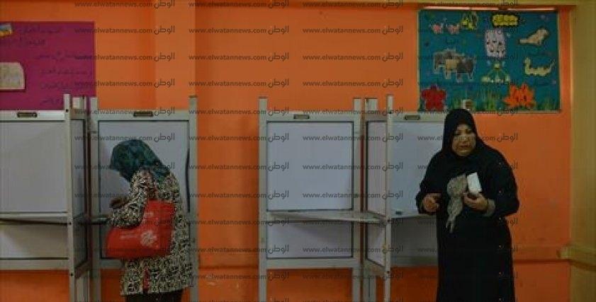 لجان الاذبكية مليئه بالنساء فى انتخابات 2018