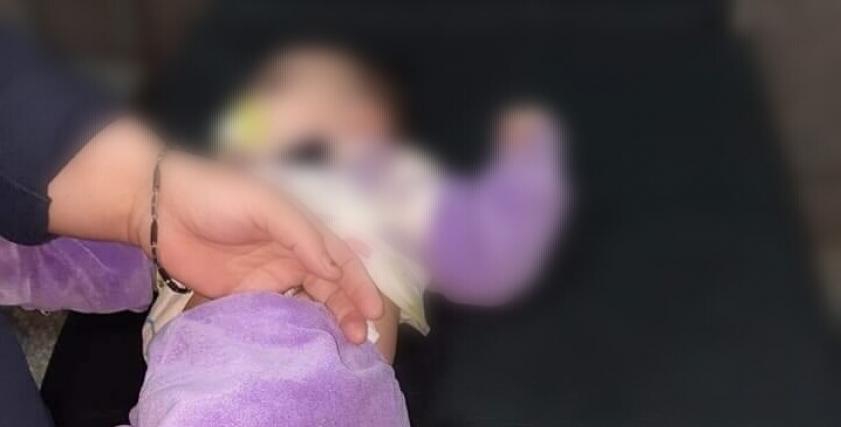 الطفلة ساجدة
