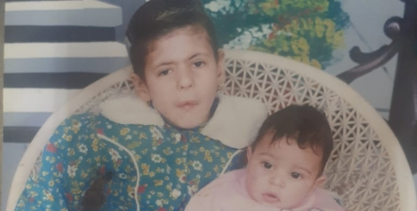 دنيا علاء السيد في طفولتها