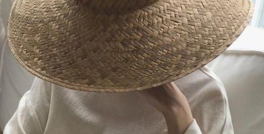 القبعات الخوص مش للبحر بس