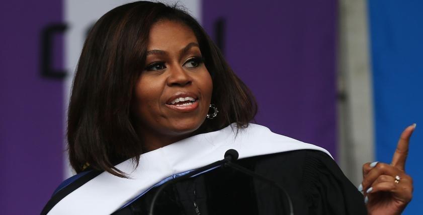 وضعت حدًا لهيمنة كلينتون.. ميشال أوباما أكثر النساء الأمريكيات إثارة للإعجاب