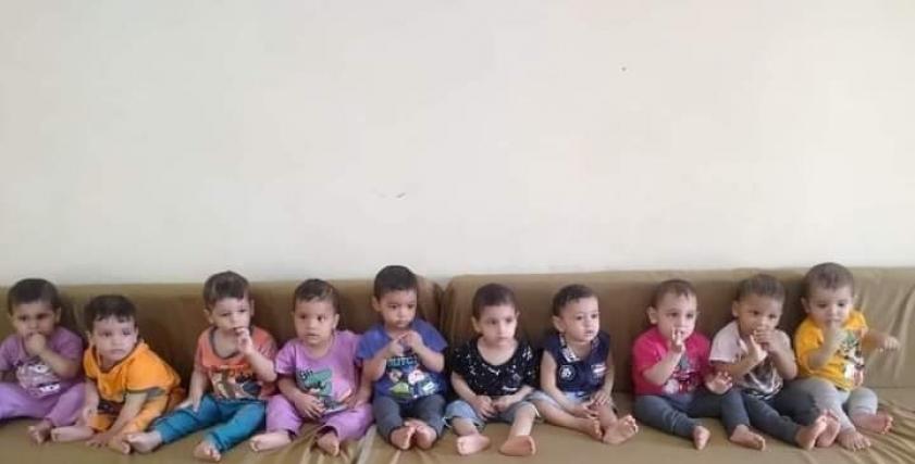 أطفال دار الأيتام - يرجي تظليل الصورة
