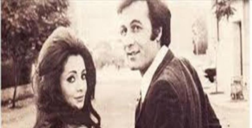 الراحل محمود ياسين وشهيرة