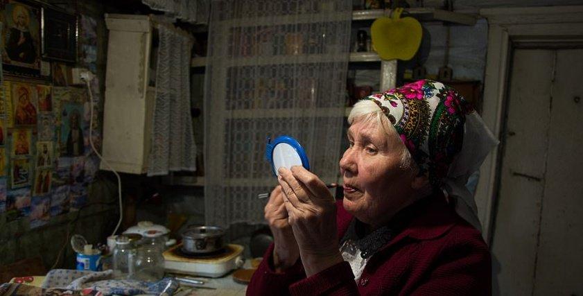 مسنة روسية عجوز