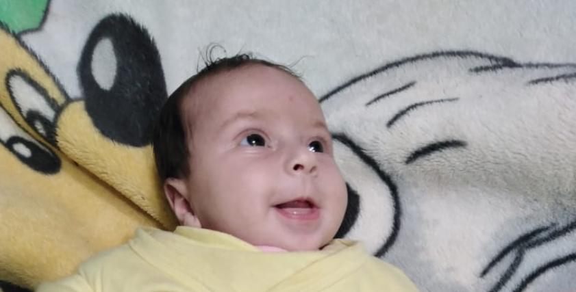الرضيعة التي عثر عليها «محمود»