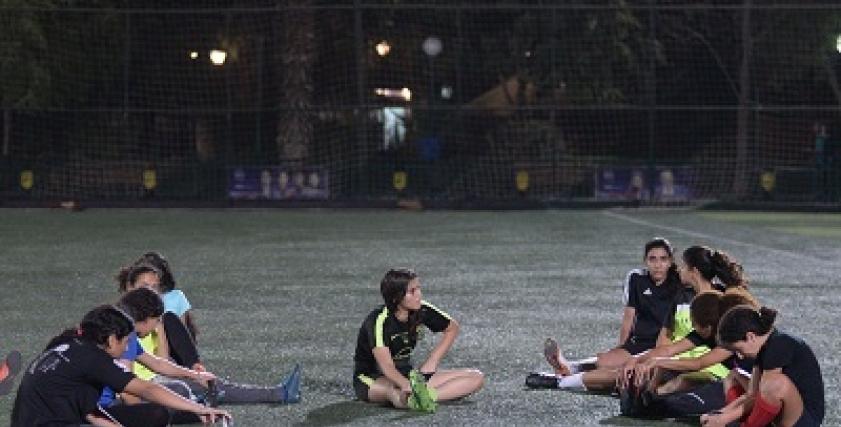 اهتمام كبيرة من وزارة الشباب والرياضة بالكرة النسائية