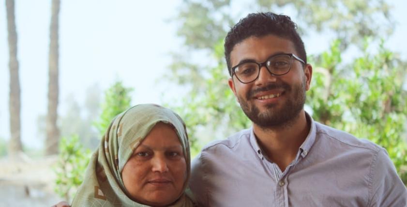 عبدالله يحلم بالفوز بجائزة لدهب مع زوجة والده