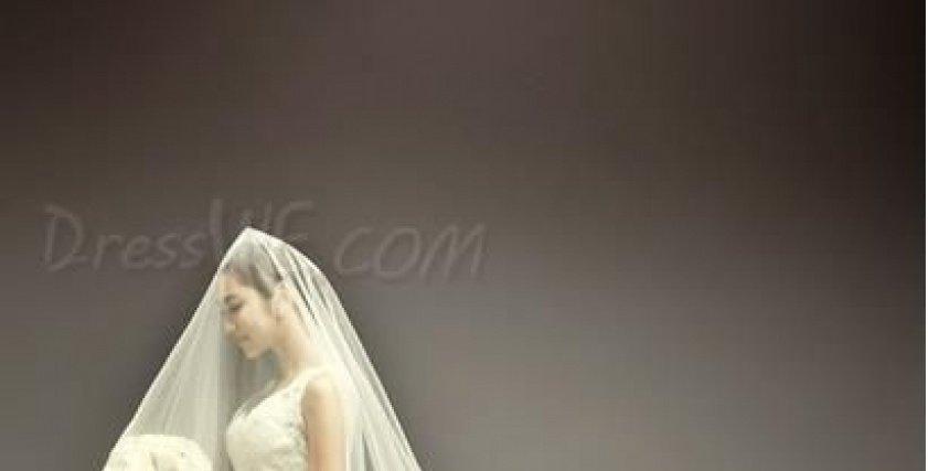 الطرحة الطويله موضة زفاف 2018