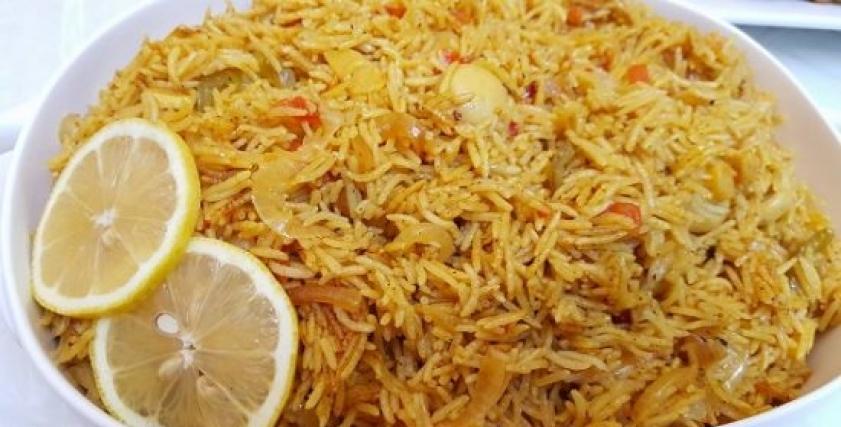 طريقة عمل أرز الصيادية