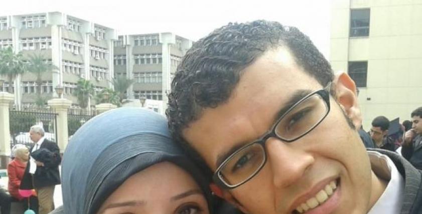 الطبيبة الراحلة رغدة الدخاخني وزوجها الدكتور وائل علاء