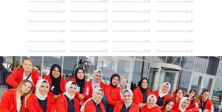 فريق الهوكي للفتيات بالشرقية